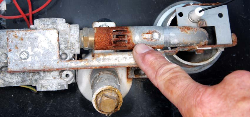 Reparação de caldeira